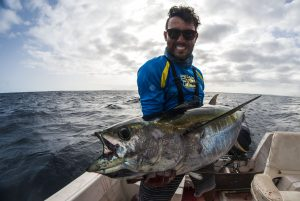Yellofin tuna Jigging